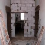 Rekonstrukce interiéru - příčky, podlahy